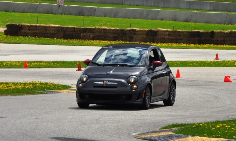 2014 Fiat Abarth 500C Autocross Road America 10