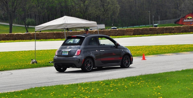 2014 Fiat Abarth 500C Autocross Road America 12