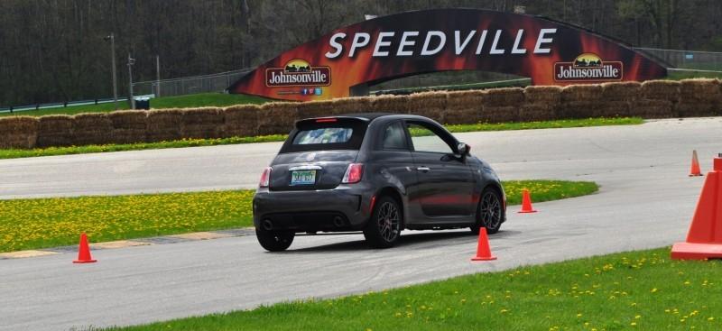 2014 Fiat Abarth 500C Autocross Road America 13