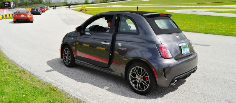 2014 Fiat Abarth 500C Autocross Road America 2
