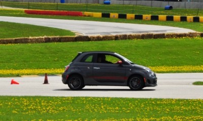 2014 Fiat Abarth 500C Autocross Road America 5