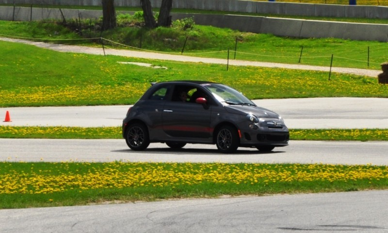 2014 Fiat Abarth 500C Autocross Road America 7