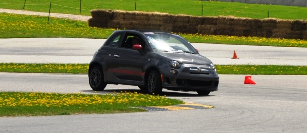 2014 Fiat Abarth 500C Autocross Road America 8