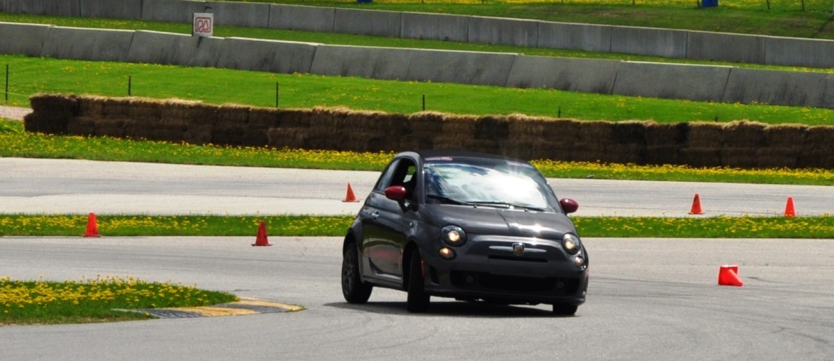 2014 Fiat Abarth 500C Autocross Road America 9