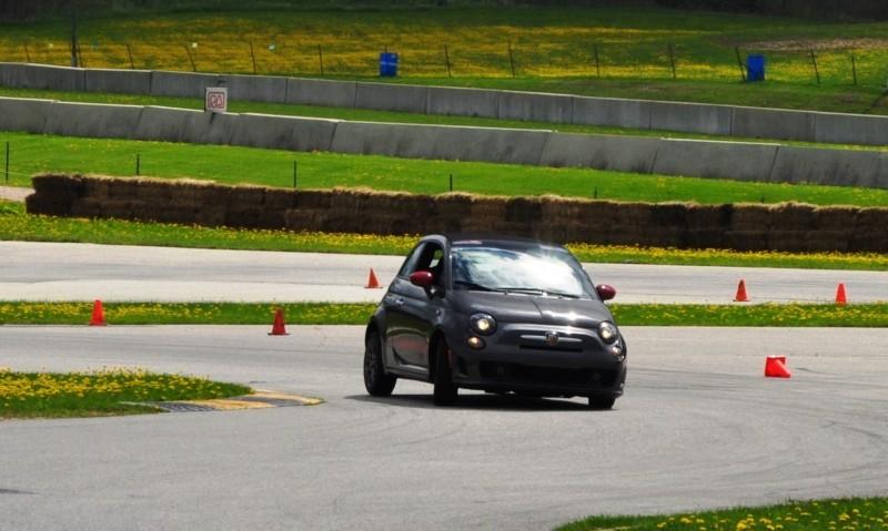 2014 Fiat Abarth 500C Autocross Road America 9