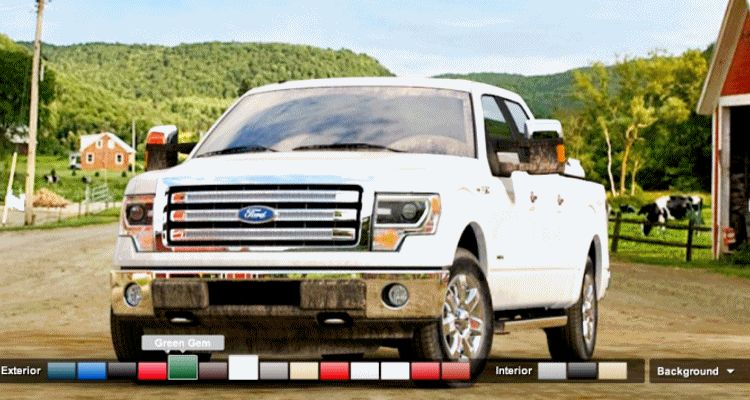 2014 Ford F-150 ALLCOLORS gif