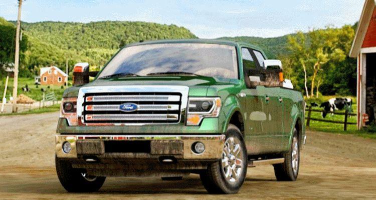 2014 Ford F-150 green gem spinner gif