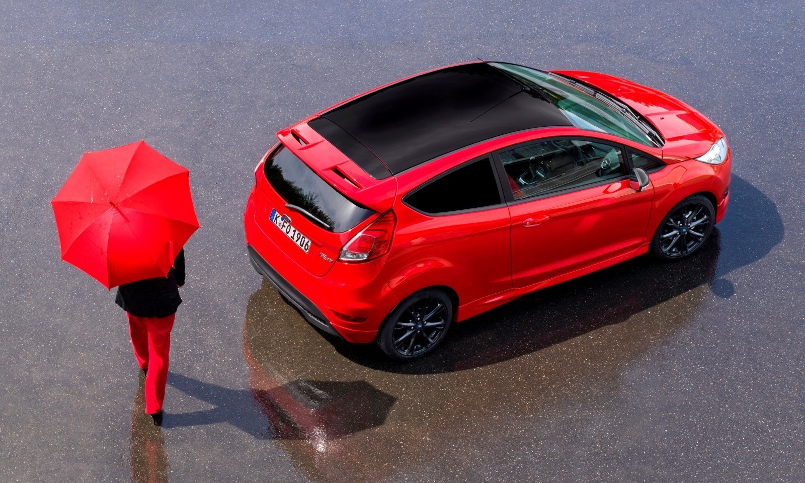 2014 ford fiesta red edition and fiesta black edition announced for uk 9 car revs. Black Bedroom Furniture Sets. Home Design Ideas