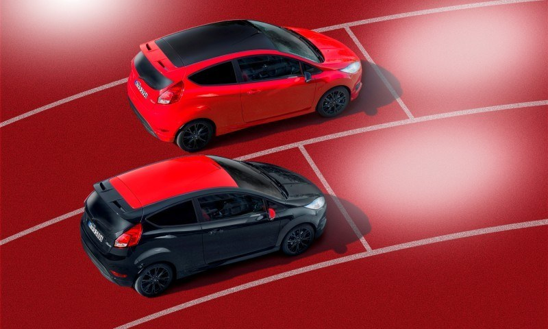2014 Ford Fiesta Red Edition and Fiesta Black Edition Announced for UK 11