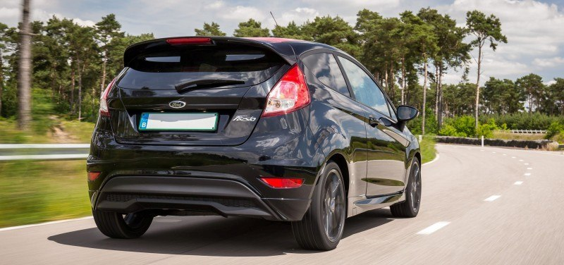 2014 Ford Fiesta Red Edition and Fiesta Black Edition Announced for UK 20