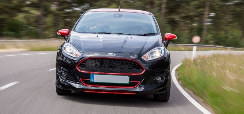 2014 Ford Fiesta Red Edition and Fiesta Black Edition Announced for UK 21
