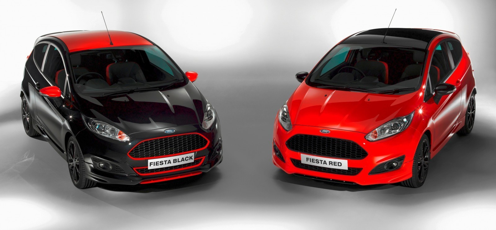 2014 Ford Fiesta Red Edition and Fiesta Black Edition Announced for UK 4