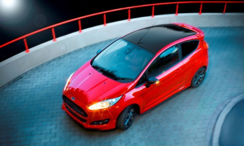 2014 Ford Fiesta Red Edition and Fiesta Black Edition Announced for UK 6