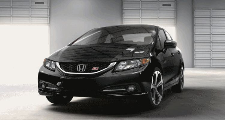 2014 Honda Civic Si Sedan BLACK spinner gif1