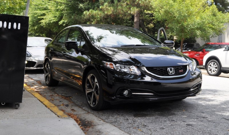 2014 Honda Civic Si Sedan Looking FU Cool In 32 Real-Life Photos 1