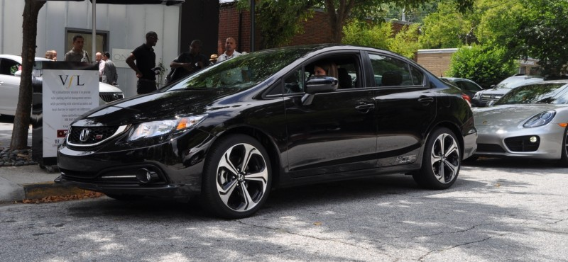 2014 Honda Civic Si Sedan Looking FU Cool In 32 Real-Life Photos 10