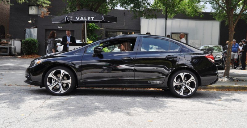 2014 Honda Civic Si Sedan Looking FU Cool In 32 Real-Life Photos 14