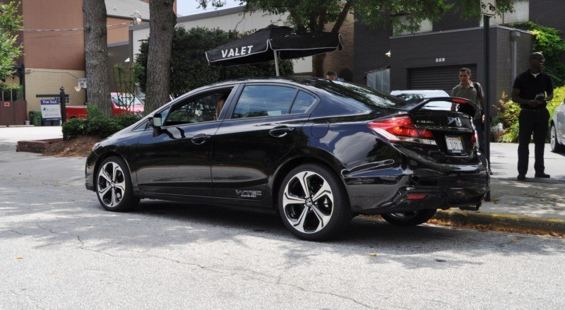 2014 Honda Civic Si Sedan Looking FU Cool In 32 Real-Life Photos 19
