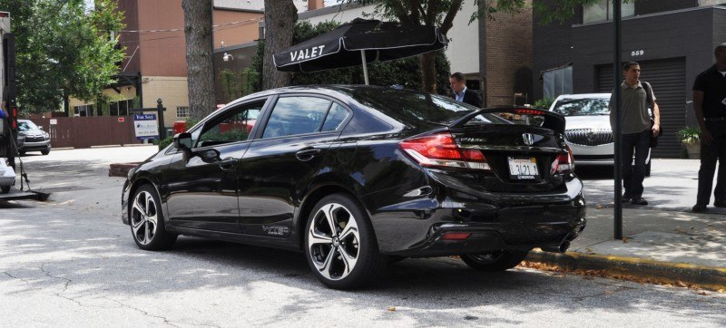 2014 Honda Civic Si Sedan Looking FU Cool In 32 Real-Life Photos 20