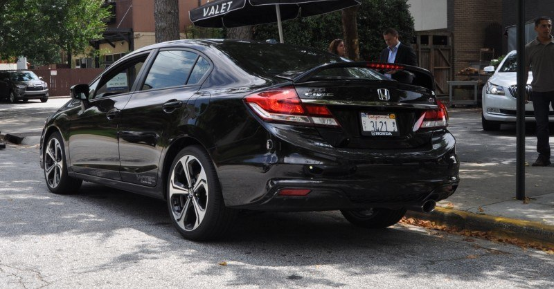 2014 Honda Civic Si Sedan Looking FU Cool In 32 Real-Life Photos 21