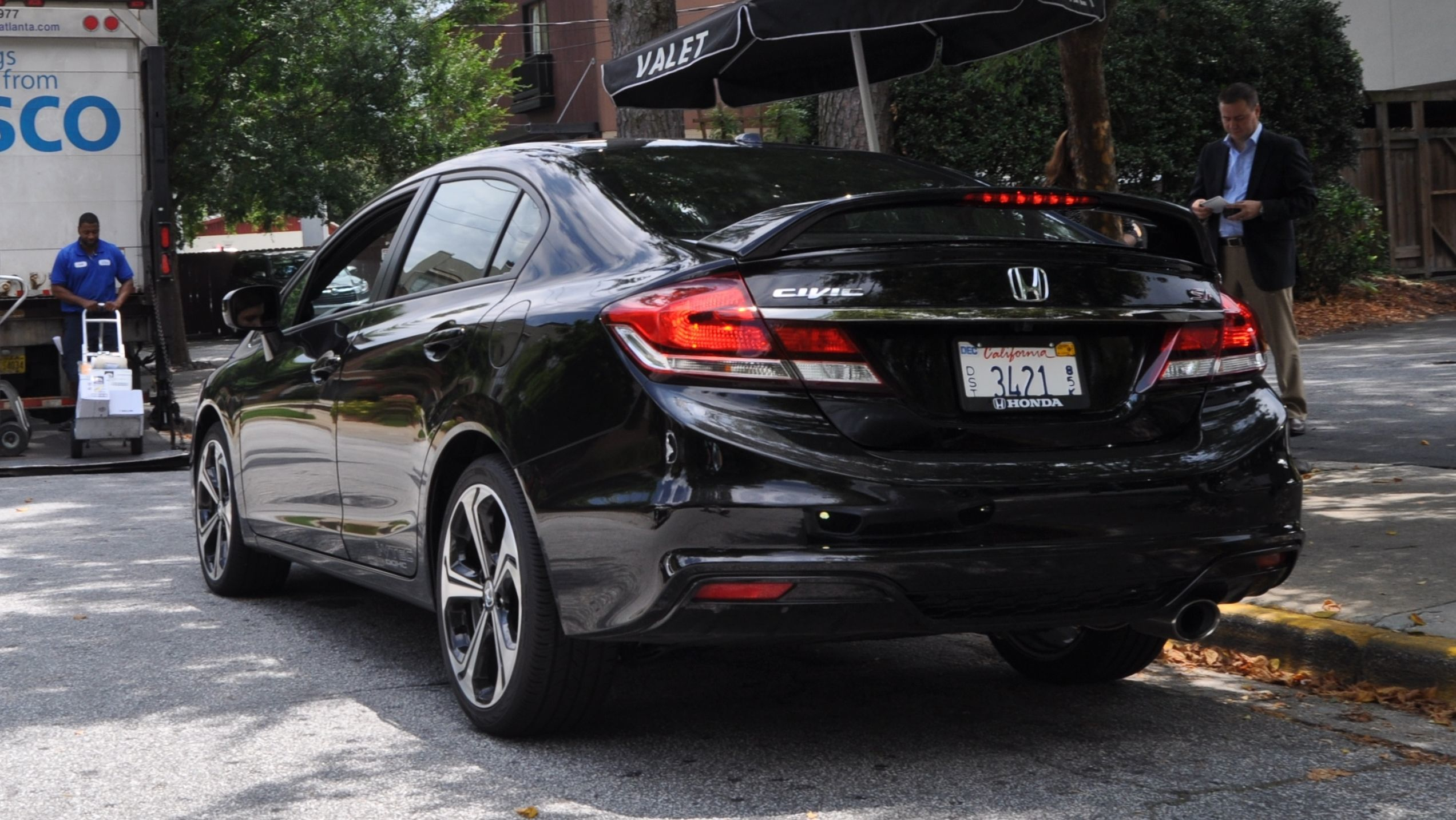 205hp 2014 honda civic si sedan is fu cool from 23k visual buyers guide. Black Bedroom Furniture Sets. Home Design Ideas