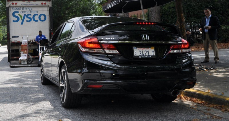 2014 Honda Civic Si Sedan Looking FU Cool In 32 Real-Life Photos 23