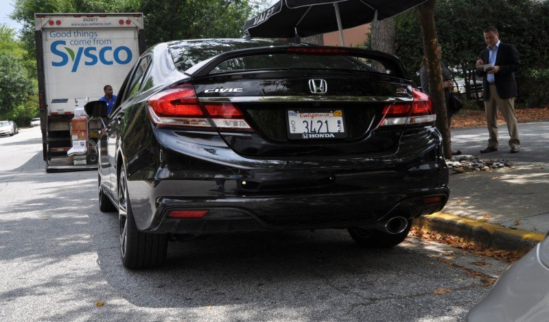 2014 Honda Civic Si Sedan Looking FU Cool In 32 Real-Life Photos 24