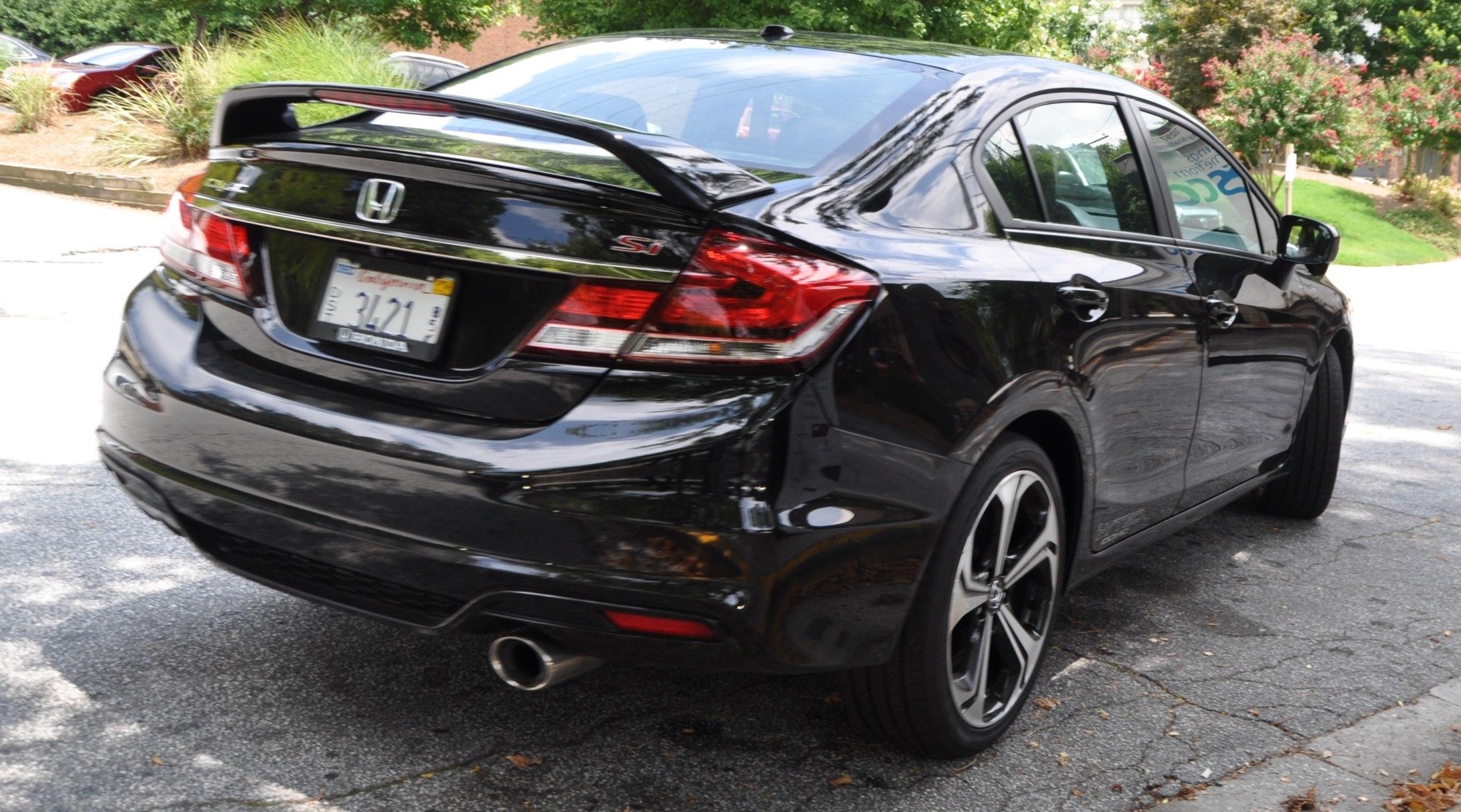 2014 Honda Civic Si Sedan Looking Fu Cool In 32 Real Life Photos 25