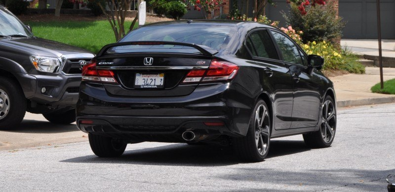 2014 Honda Civic Si Sedan Looking FU Cool In 32 Real-Life Photos 30