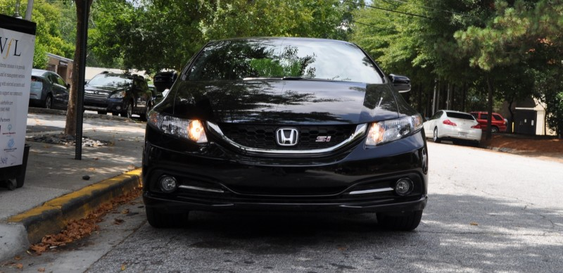 2014 Honda Civic Si Sedan Looking FU Cool In 32 Real-Life Photos 6