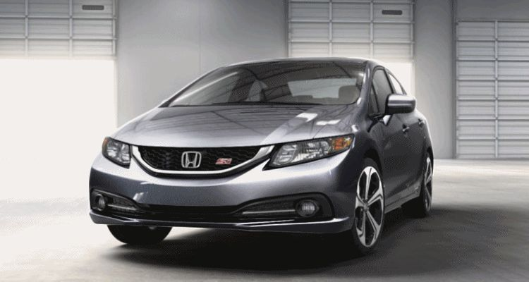 2014 Honda Civic Si Sedan SILVER spinner gif1