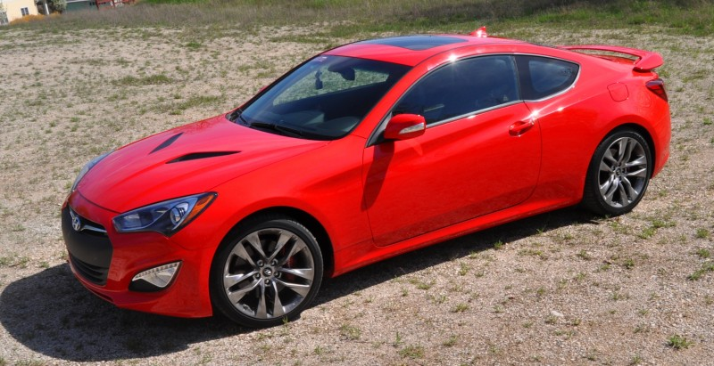 2014 Hyundai Genesis Coupe 3.8L V6 R-Spec - Road Test Review of FAST and FUN RWD Sportscar 103