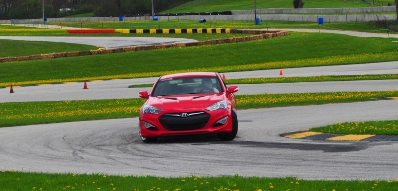 2014 Hyundai Genesis Coupe 3.8L V6 R-Spec - Road Test Review of FAST and FUN RWD Sportscar 107