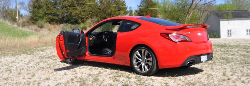 2014 Hyundai Genesis Coupe 3.8L V6 R-Spec - Road Test Review of FAST and FUN RWD Sportscar 12