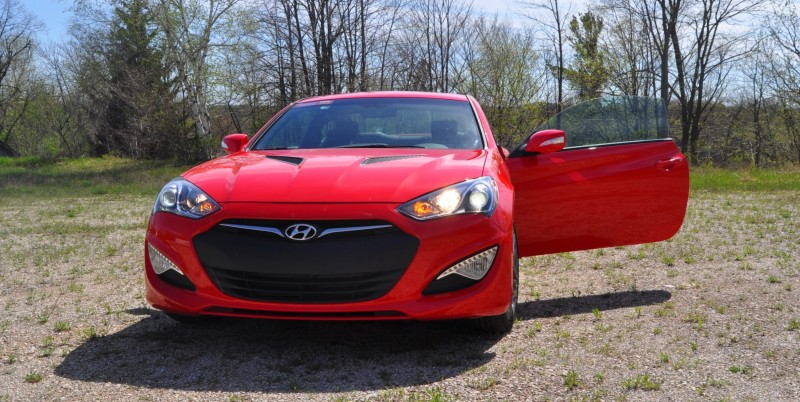 2014 Hyundai Genesis Coupe 3.8L V6 R-Spec - Road Test Review of FAST and FUN RWD Sportscar 15
