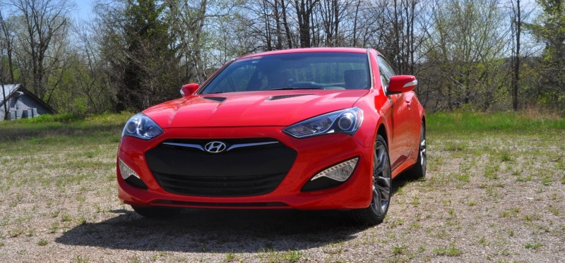 2014 Hyundai Genesis Coupe 3.8L V6 R-Spec - Road Test Review of FAST and FUN RWD Sportscar 17
