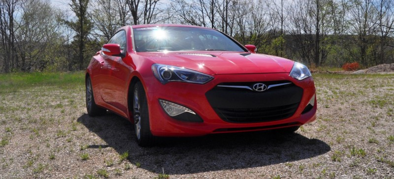 2014 Hyundai Genesis Coupe 3.8L V6 R-Spec - Road Test Review of FAST and FUN RWD Sportscar 21