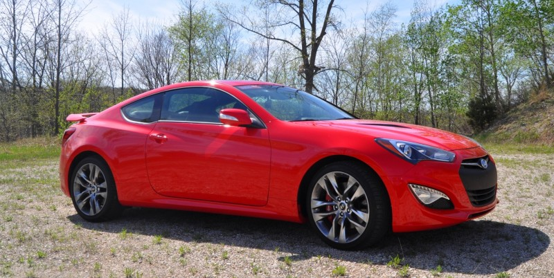 2014 Hyundai Genesis Coupe 3.8L V6 R-Spec - Road Test Review of FAST and FUN RWD Sportscar 24