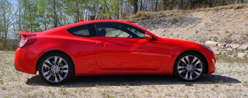 2014 Hyundai Genesis Coupe 3.8L V6 R-Spec - Road Test Review of FAST and FUN RWD Sportscar 28
