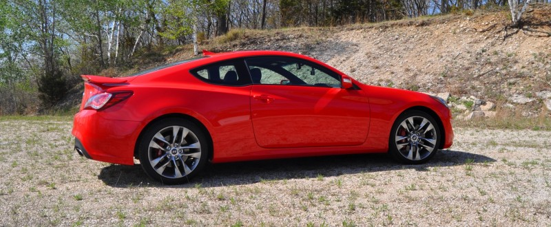 2014 Hyundai Genesis Coupe 3.8L V6 R-Spec - Road Test Review of FAST and FUN RWD Sportscar 29