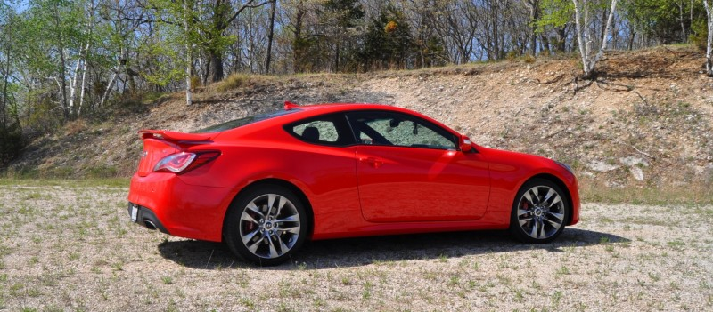 2014 Hyundai Genesis Coupe 3.8L V6 R-Spec - Road Test Review of FAST and FUN RWD Sportscar 30