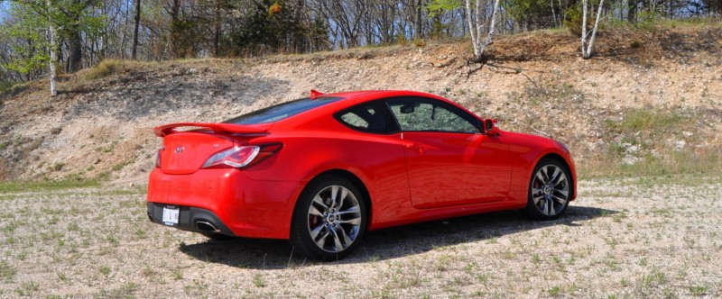 2014 Hyundai Genesis Coupe 3.8L V6 R-Spec - Road Test Review of FAST and FUN RWD Sportscar 33
