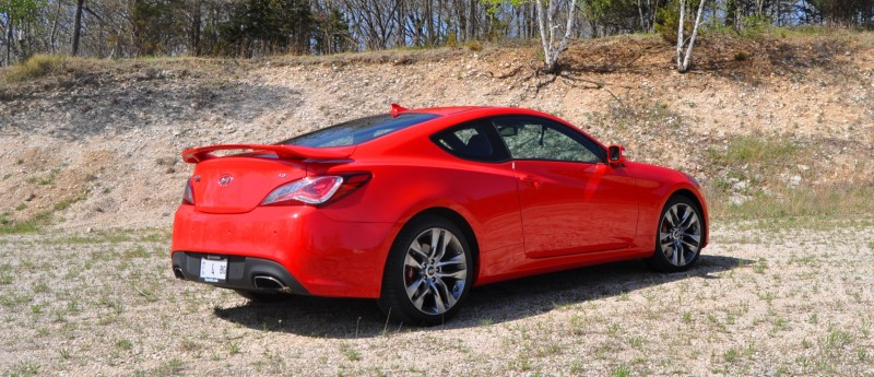 2014 Hyundai Genesis Coupe 3.8L V6 R-Spec - Road Test Review of FAST and FUN RWD Sportscar 34