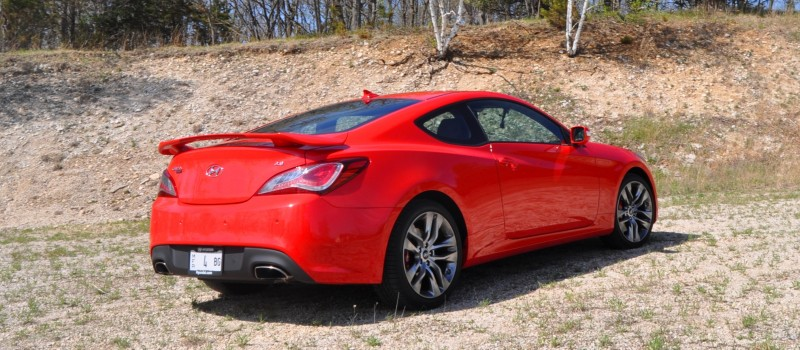 2014 Hyundai Genesis Coupe 3.8L V6 R-Spec - Road Test Review of FAST and FUN RWD Sportscar 35