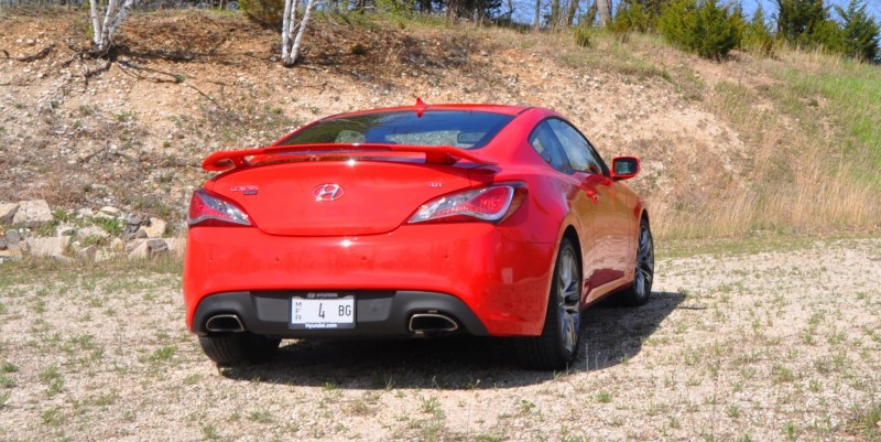 2014 Hyundai Genesis Coupe 3.8L V6 R-Spec - Road Test Review of FAST and FUN RWD Sportscar 38