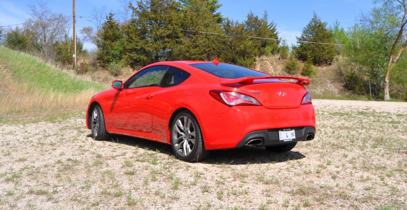 2014 Hyundai Genesis Coupe 3.8L V6 R-Spec - Road Test Review of FAST and FUN RWD Sportscar 47