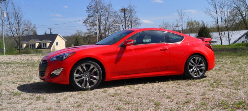 2014 Hyundai Genesis Coupe 3.8L V6 R-Spec - Road Test Review of FAST and FUN RWD Sportscar 58
