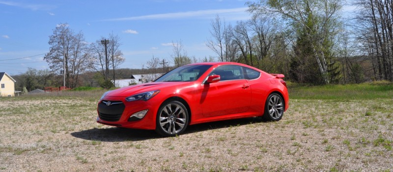 2014 Hyundai Genesis Coupe 3.8L V6 R-Spec - Road Test Review of FAST and FUN RWD Sportscar 60