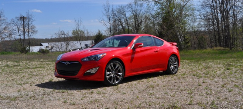 2014 Hyundai Genesis Coupe 3.8L V6 R-Spec - Road Test Review of FAST and FUN RWD Sportscar 61