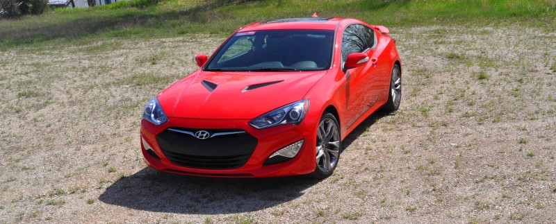2014 Hyundai Genesis Coupe 3.8L V6 R-Spec - Road Test Review of FAST and FUN RWD Sportscar 64